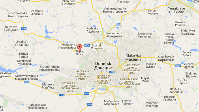 Ukrainian photog killed in shelling outside Donetsk