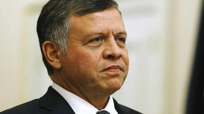 Jordan's King Abdullah. (Reuters/Jonathan Ernst)