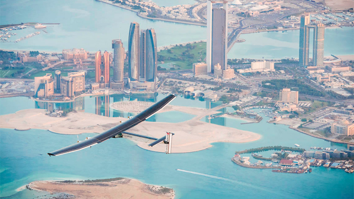 The Sun's the limit: Solar plane passes third test before round-the-world trip