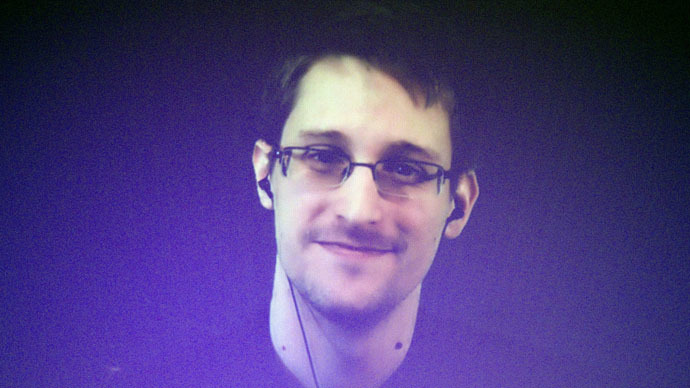 Former U.S. National Security Agency contractor Edward Snowden (Reuters/Charles Platiau)
