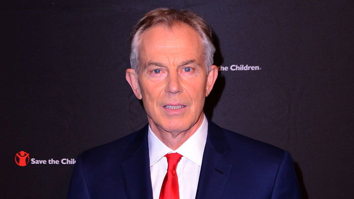 Former Minister of the United Kingdom and Honoree Tony Blair attends the 2nd Annual Save The Children Illumination Gala at the Plaza on November 19, 2014 in New York City. (Stephen Lovekin/Getty Images for Save the Children/AFP)