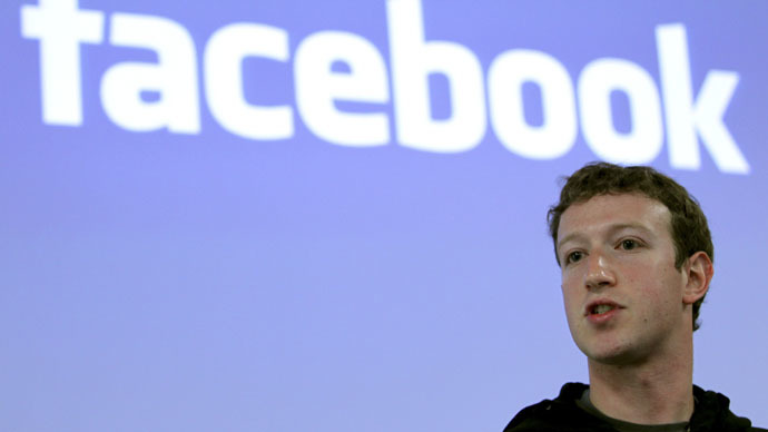 Facebook CEO Mark Zuckerberg (Reuters/Robert Galbraith)