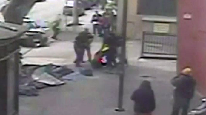 CCTV footage of LAPD gunning down homeless man released