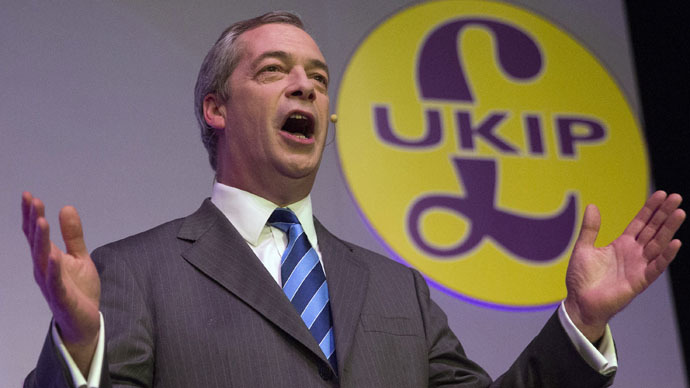 'No arbitrary targets': Farage unveils UKIP immigration policy