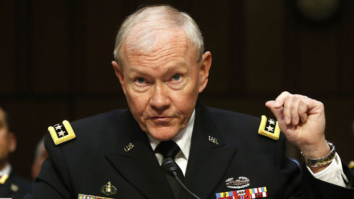 Chairman of the Joint Chiefs of Staff U.S. Army General Martin Dempsey (Reuters/Jonathan Ernst)