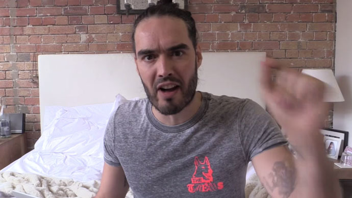 Russell Brand (Still from YouTube video)