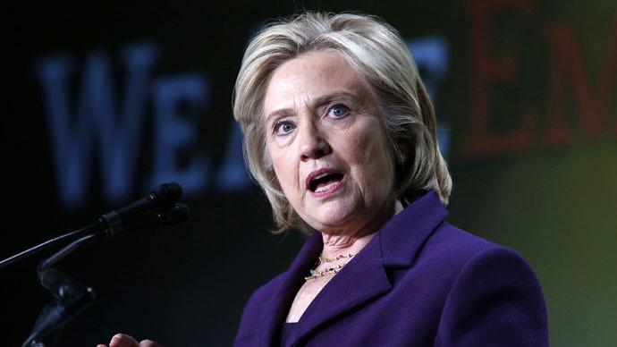 Former secretary of state Hillary Clinton (Reuters/Yuri Gripas)