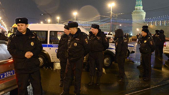 Dashcam video shows Nemtsov's murder site '3 minutes after attack'