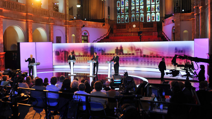 'Chicken!' Cameron taunted for shirking election debate