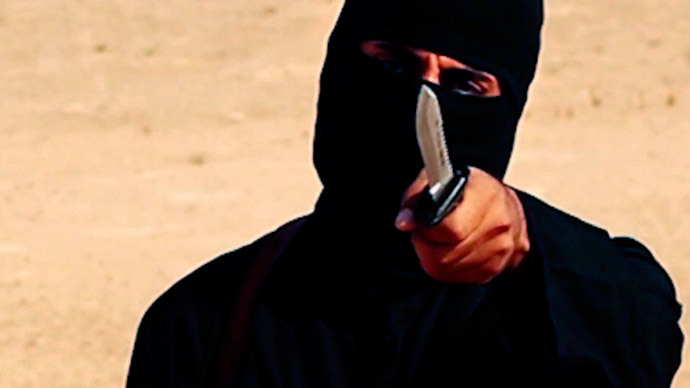 Jihadi john.(Reuters / SITE Intel Group)