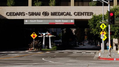 The Cedars-Sinai hospital is pictured in Los Angeles, California (Reuters / Benoit Tessier)