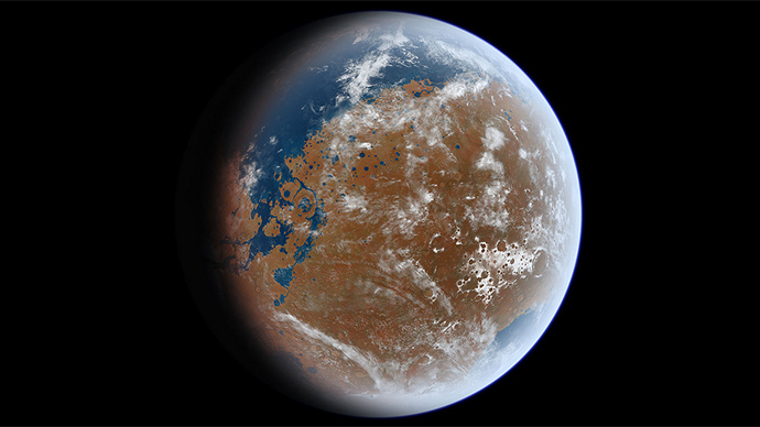 Mars once had an ocean with more water than the Arctic – NASA