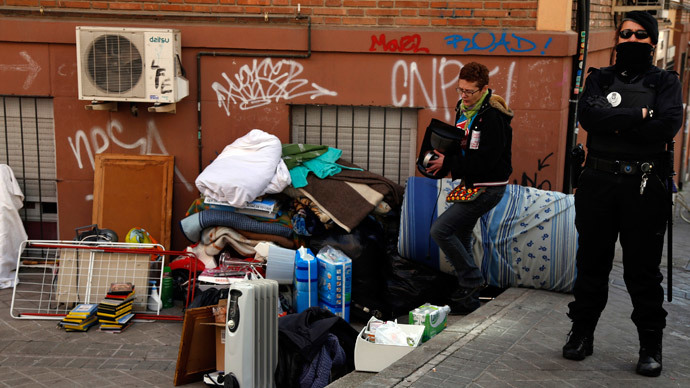 Almost 100 Families Evicted Daily In Spain Statistics