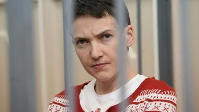 Ukrainian pilot Nadezhda Savchenko.(RIA Novosti / Iliya Pitalev)