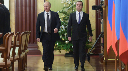 Putin cuts own, PM's salary by 10 per cent