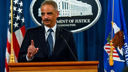 U.S. Attorney General Eric Holder (Reuters / James Lawler Duggan)