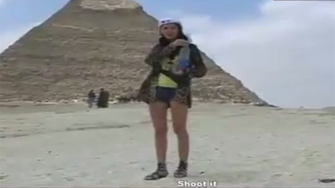 Sphinx, Cover Your Eyes Porn Filmed At Egypt Pyramid Triggers Shock  Investigation -8141