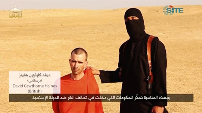 UK hostage Haines executed by ISIS inspired children's book while in captivity