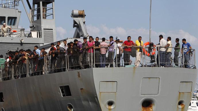 EU mulls naval blockade of Libya to controls arms, oil & refugee flows