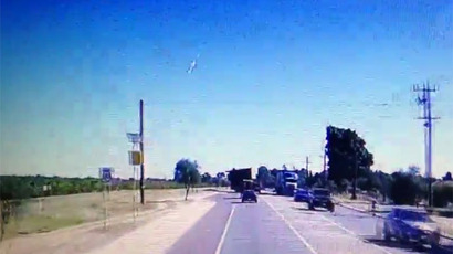 Meteor lights up Siberian skies near Chita