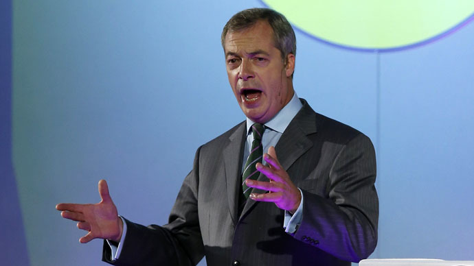 The leader of the United Kingdom Independence Party (UKIP) Nigel Farage (Reuters/Andrew Yates)