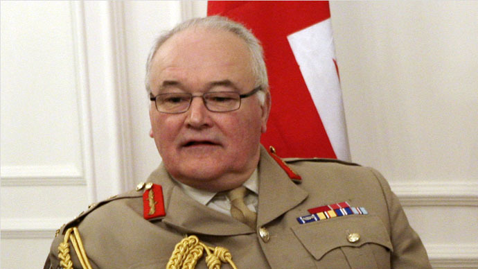 ​UK lost 'national appetite' for war, says top general