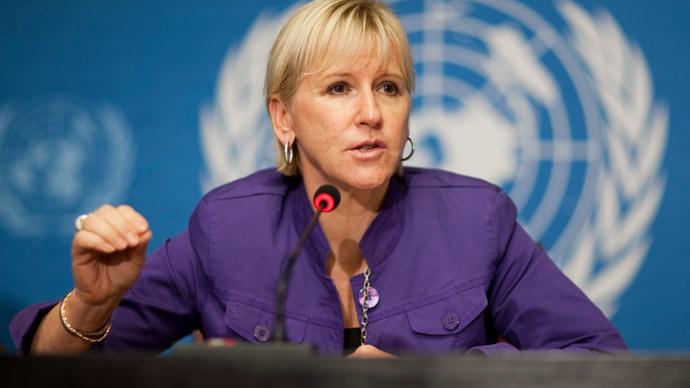 Margot Wallstroem.(Reuters / Valentin Flauraud )