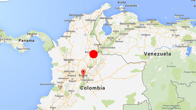 Evacuations as 6.6 earthquake shakes Colombia capital
