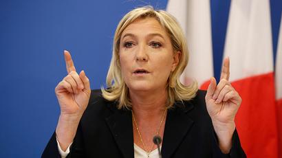 France's National Front political party head Marine Le Pen (Reuters / Charles Platiau)