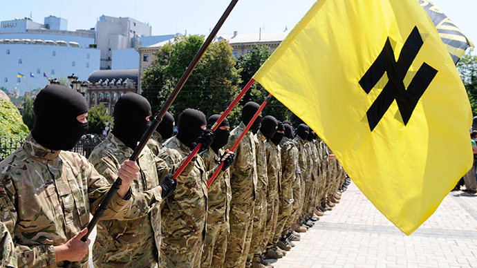 'It's his personal ideology': USA Today finds Nazis among Kiev's volunteer brigade