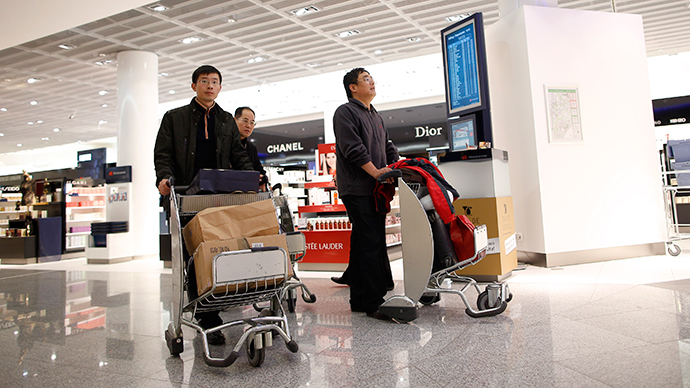174 million Chinese tourists to spend record $264bn by 2019