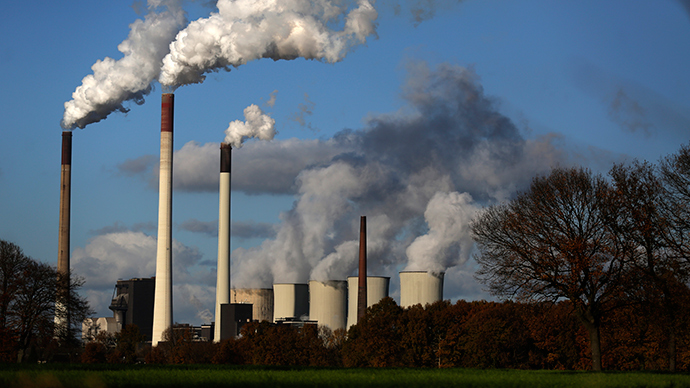 The coal power plant 'Scholven' of German utility giant E.ON is seen in Gelsenkirchen, Germany (Reuters / Ina Fassbender)