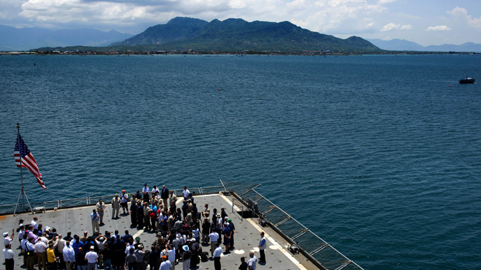 Cam Ranh Bay (Reuters / Jim Watson / Pool)