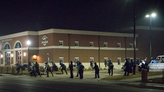 Video emerges of Ferguson cops shooting (Warning: Strong language)