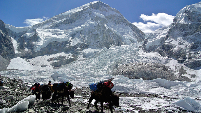 Chomolungma conquered! Google launches virtual tour of Nepal Everest region (VIDEO)