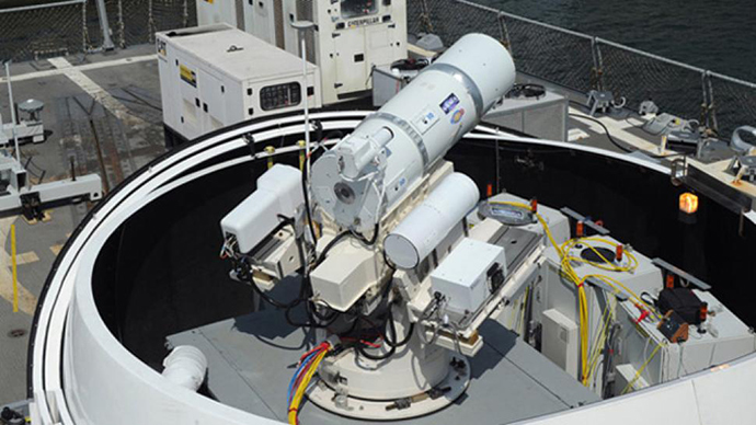 Laser weapon prototype to be built by UK military