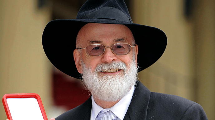 ​Discworld novelist Terry Pratchett dies at 66