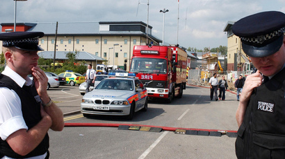 Immigration and Detention Centre of Harmondsworth near Heathrow  (AFP Photo / Martyn Hayhow)