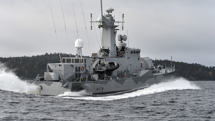 Swedish corvette HMS Stockholm (Reuters / Anders Wiklund / TT News Agency)