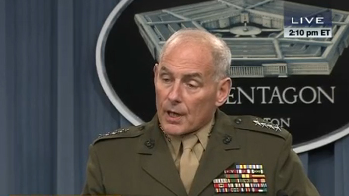 Marine Gen Kelly (screenshot from c-span.org)