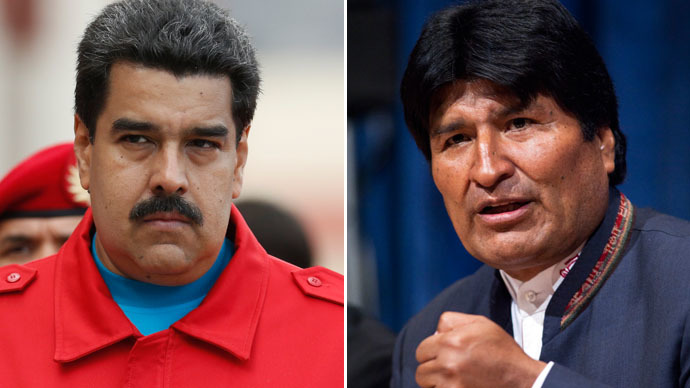 'Undemocratic, interventionist': Bolivia lashes out at Obama for Venezuela sanctions