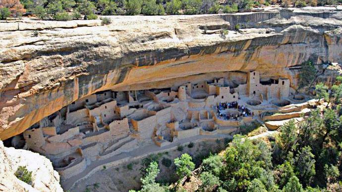 Anasazi Indian ruins (Photo from wikipedia.org)