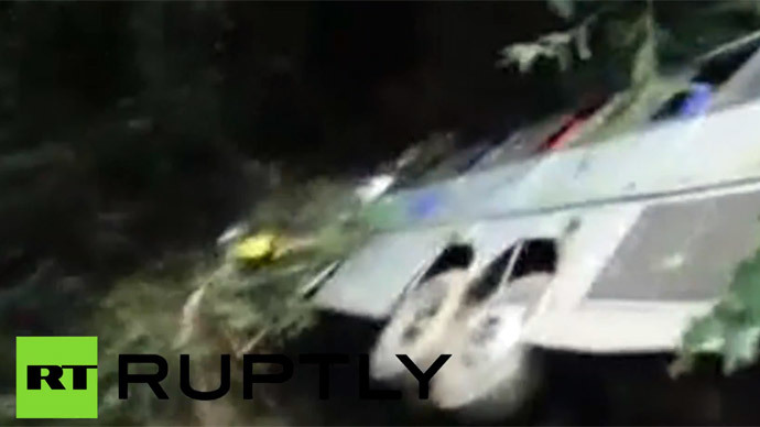 54 dead as tourist bus plunges into ravine in Brazil