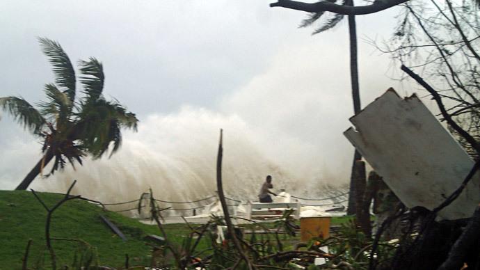 Cyclone Pam Hits New Zealand After Devastating Vanuatu