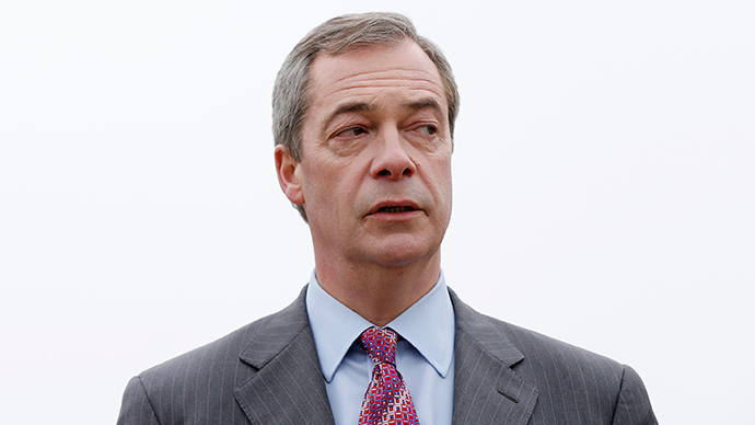 Nigel Farage, the leader of the UK Independence Party (UKIP) (Reuters / Suzanne Plunkett)