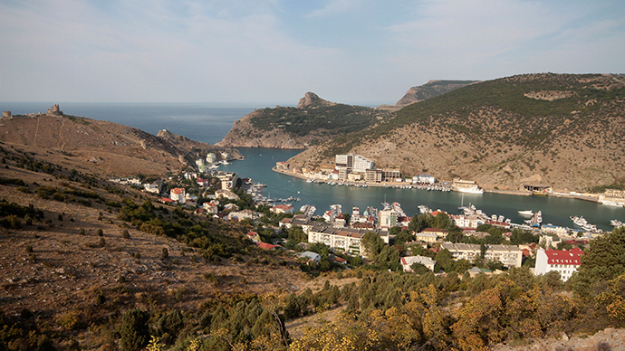 A general view shows the settlement of Balaklava, a district of Sevastopol in Crimea (Reuters / Pavel Rebrov)