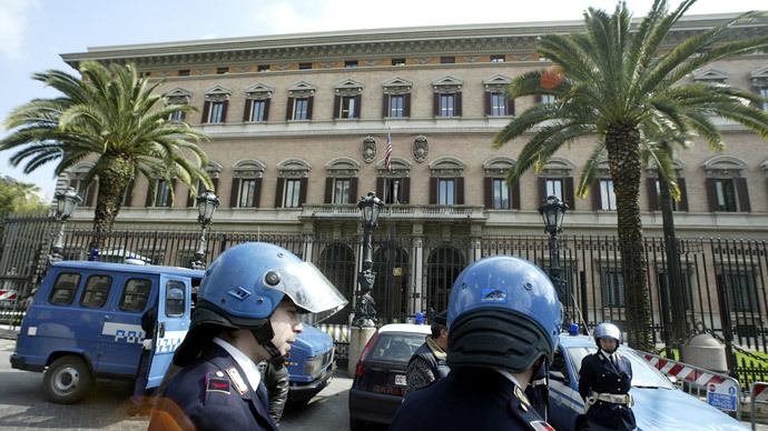 rome russian embassy in