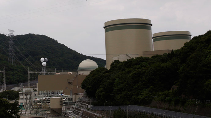 Kansai Electric Power Co.'s Takahama nuclear power plant is seen Ohi town, Fukui prefecture (Reuters / Issei Kato)