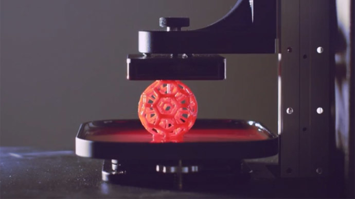 25-100 times faster: Revolutionary 3D-printing technology announced