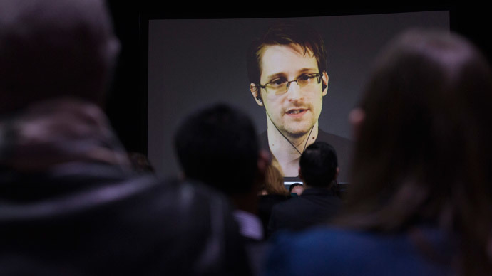 Former U.S. National Security Agency contractor Edward Snowden (Reuters / Mark Blinch)